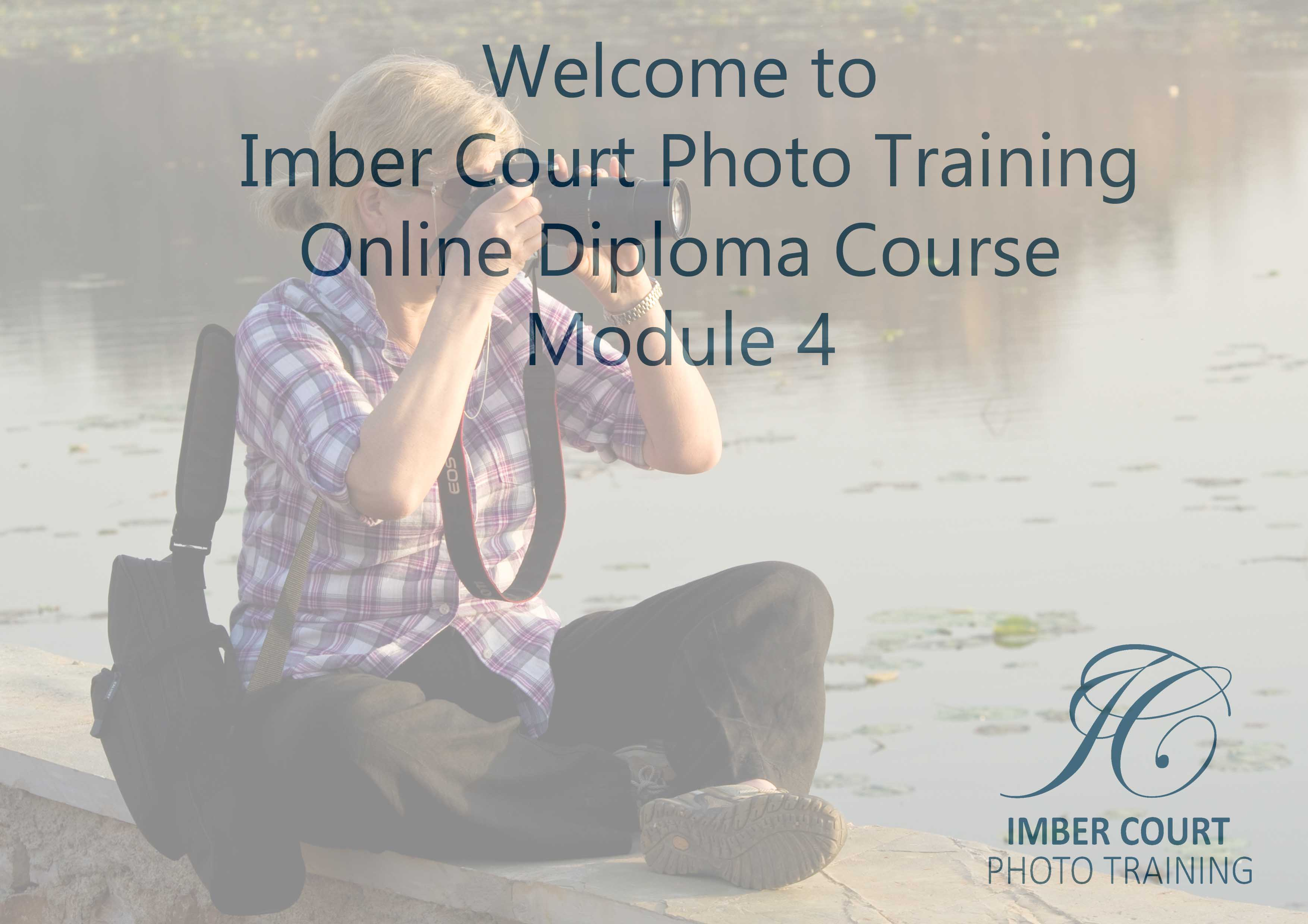 Beginners online photography course Module 4