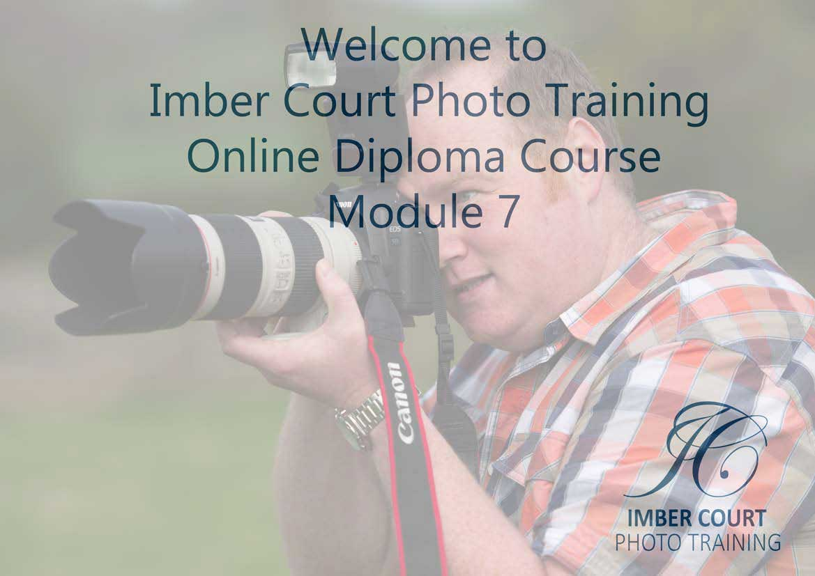 Beginners online photography course Module 7